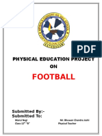 Physical Education Project On