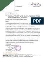 transmission line acceptance project