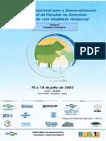 Seminário Internacional para o Desenvolvimento Sustentável da Pecuária na Amazônia