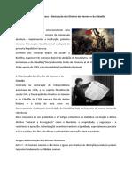 Rev. Francesa - Dec. Dos Direitos Humanos