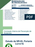 Apresentação Da NR-05