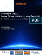 H2020 Programme 24 March 2015