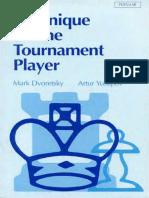 Mark Dvoretsky, Arthur Yusupov, Artur Iusupov, Vladimir Vulfson-Technique for the Tournament Player (Batsford Chess Library) (1995).pdf