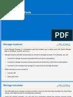 Azure Storage Tools