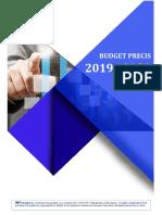 Budget Precis 2019-2020