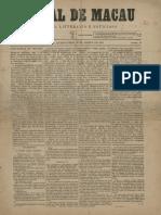 Jornal de Macau _ Politico, Litterario e Noticioso