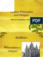 Eastern Philosophy and Religion