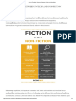 Here's the Main Difference Between Fiction and Nonfiction