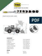 Komatsu WA180-3 Wheel Loader Specs