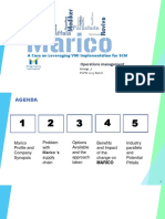 Marico Sales Process