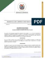 DECRETO 3 - DESIGNACIÓN DIRECTIVA AD HOC PDVSA