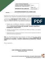 REPRESENTANTE POR LA DIRECCION.doc