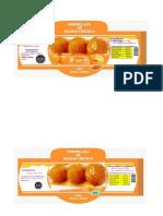 Etiqueta Mango Siriuelo
