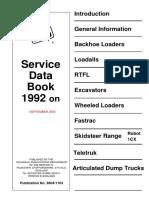 JCB Service Data Book 1992 on.pdf