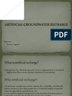 Artificial Groundwater Recharge