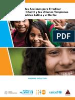 PDF Publicación Acelerar Acciones Para Erradicar El Matrimonio Infantil y Las Uniones Tempranas en ALC