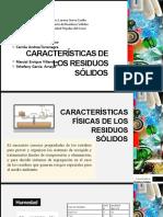 CARaCTERíSTICAS DE LOS RESIDUOS SÓLIDOS.pptx
