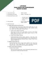 Laporan Pemeriksaan Hidromekanik Waduk Cacaban 2011