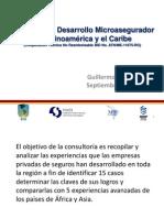 Programa de Desarrollo Microasegurador en Latinoamérica y el Caribe