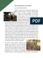 Conquistadores Españoles Época Precolombina.docx