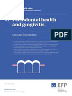 Periodontal Health and Gingivitis