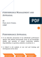 HRM Performance Appraisal