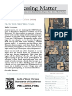 DVC-GBW Winter 2019 Newsletter