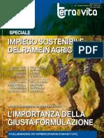 Impiego sostenibile del rame in agricoltura