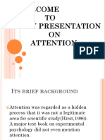 Presentation on Attention