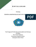 Penyuluhan Administrasi, Keuangan dan Data PKK.docx