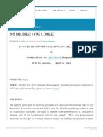 2015 Case Digest 1 Utak v. Comelec