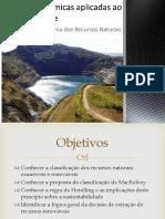 Economia de recursos naturais
