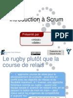 French Redistributable Intro Scrum