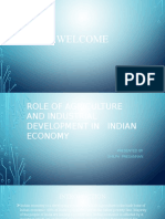 Role of Agriculture in Indian Economy - Silpa