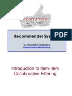 ITEM-ITEM Complete Lecture