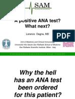 A Positive Ana Test Lorenzo Dagna
