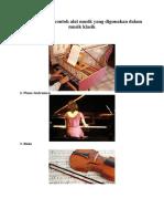 Beberapa jenis contoh alat musik yang digunakan dalam musik klasik.docx