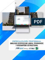 Brochure Analisis Estatico No Lineal Pushover y Desempeno Estructural