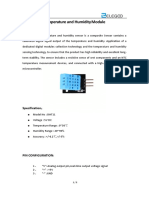 Temperature and Humidity Module