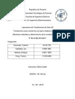 Laboratorio de Transferencia de Calor #2 2019.docx