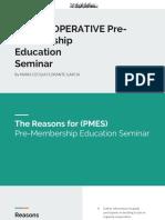 001 HUD COOPERATIVE PMES Presentation