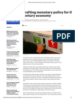 Sumner - Crafting Monetary Policy for the 21st Century Economy