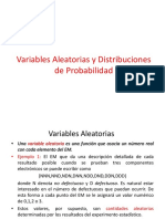 variable aleatorias