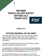Encuesta Mundial de Valores Chile 2018
