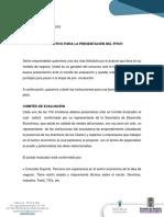 Instructivo Programación Ptich - Capital Semilla 2019