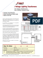 Direct Burial Low Voltage Lighting Transformers