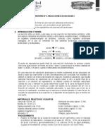 Practica No. 4. Reacciones Acido-base.