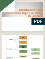 Clasificación de Herbicidas