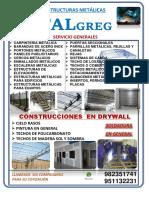 Estructuras Metálicas - Oficio 001