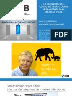 La Economía del Comportamiento como Herramienta para Mejorar Vidas | Foro Internacional de Economía del Comportamiento